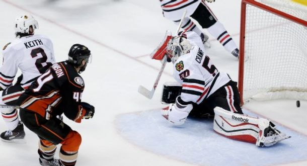 Frederik Andersen Dominates In Net As Anaheim Ducks Take Game One Over The Chicago Blackhawks