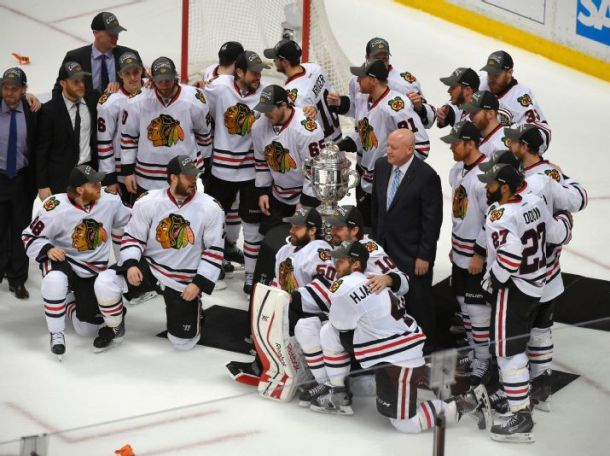 Chicago Blackhawks Clinch Third West Title In Six Years With Game 7 Victory Over Anaheim Ducks