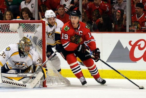 Chicago Blackhawks Win Game Three Behind a Three Goal Second