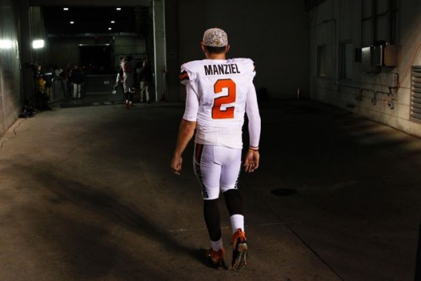 Cleveland Browns Name QB Johnny Manziel Starter For Remainder Of Season