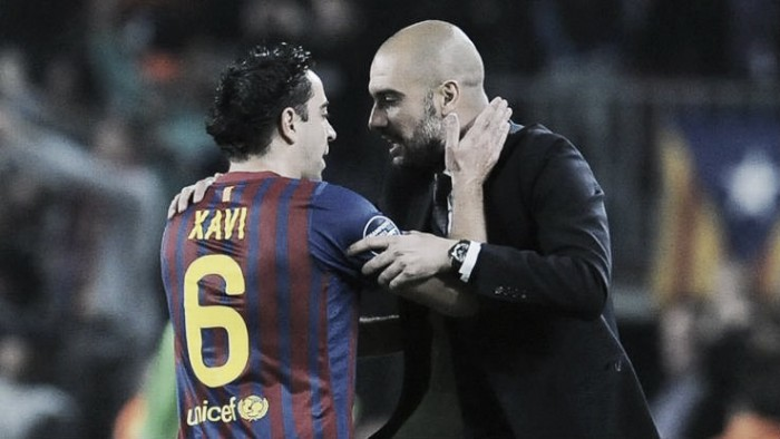 "Xavi backs Guardiola to ""perfect his ideas"" at Manchester City"