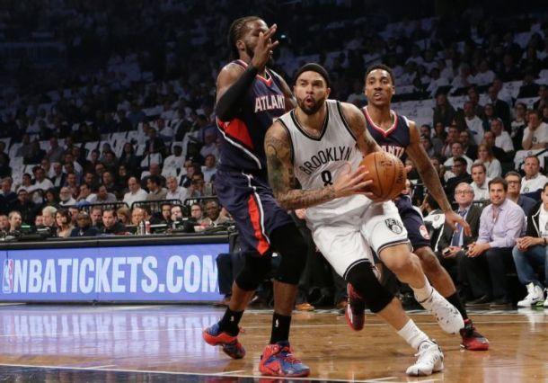 Score Atlanta Hawks - Brooklyn Nets in 2015 NBA Playoffs Game 6 (111-87)
