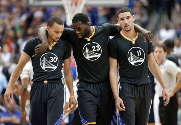 The Emerging Big Three Of Golden State Warriors Lead The Way In A Huge Road Victory Over Dallas Mavericks