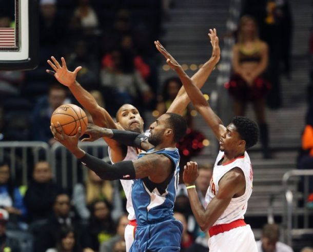 Minnesota Timberwolves Hang On To Defeat Atlanta Hawks In Wild Game