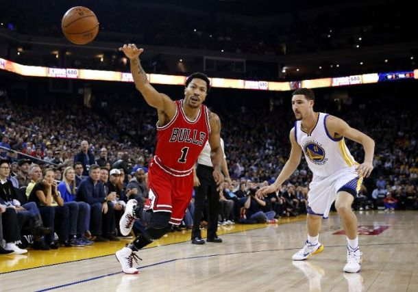 Derrick Rose Hits A Game-Winner In Overtime To Knock Off The Golden State Warriors, 113-111