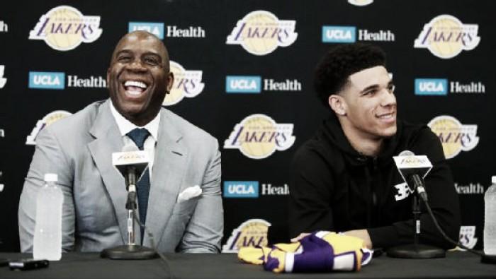 """NBA, Magic su Lonzo Ball: """"È il nuovo volto dei Lakers"""""""