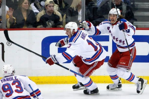 New York Rangers Push Pittsburgh Penguins To The Brink Of Elimination With OT Win