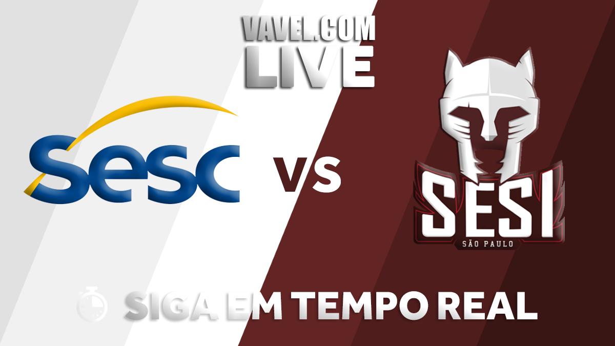 Resultado Sesc-RJ x Sesi-SP pelas semifinais da Superliga Masculina (0-3)
