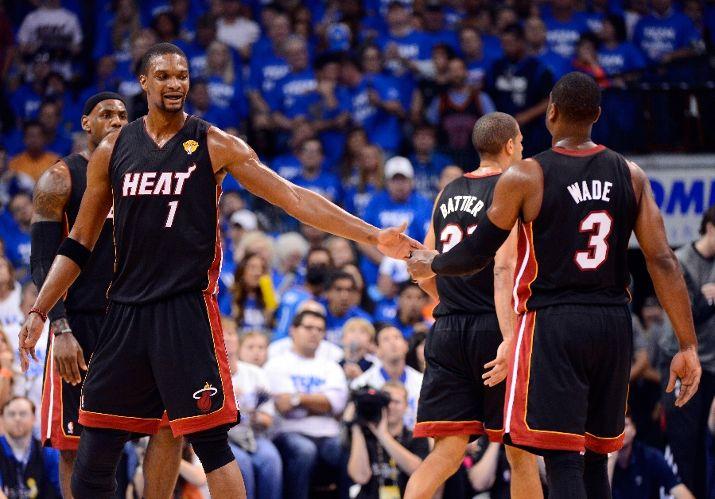 Miami derrota a Oklahoma y empata las Finales