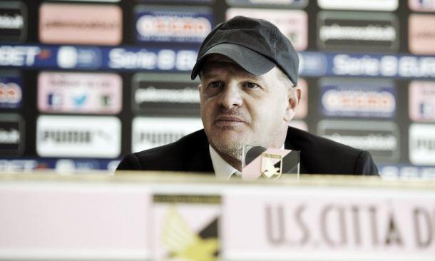 """Palermo, Iachini: """"La nostra classifica è ottima. Valutiamo i giovani per il futuro"""""""