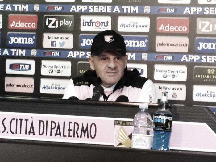 """Palermo, Iachini: """"Squadra in crescita, con l'Inter senza paura"""""""