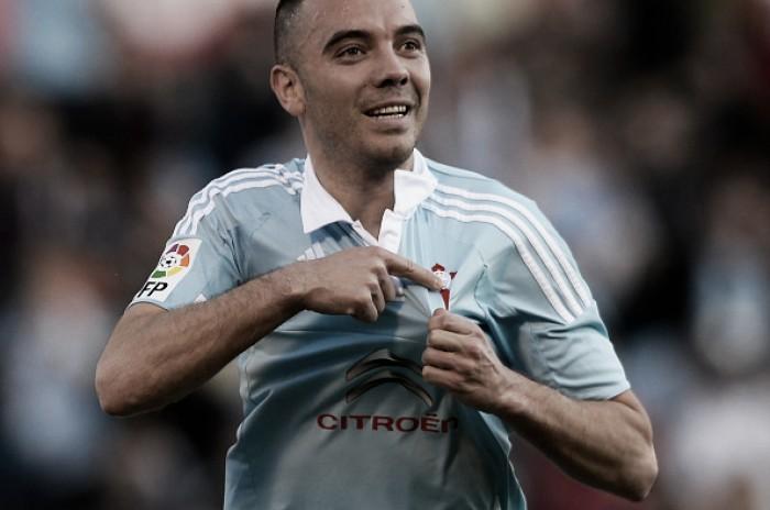 Iago Aspas brilha e Celta de Vigo vence lanterna Granada com tranquilidade