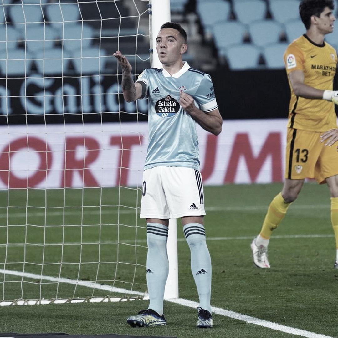 """Iago Aspas: """"Les hemos regalado esos dos goles y un equipo como el Sevilla no te perdona"""""""