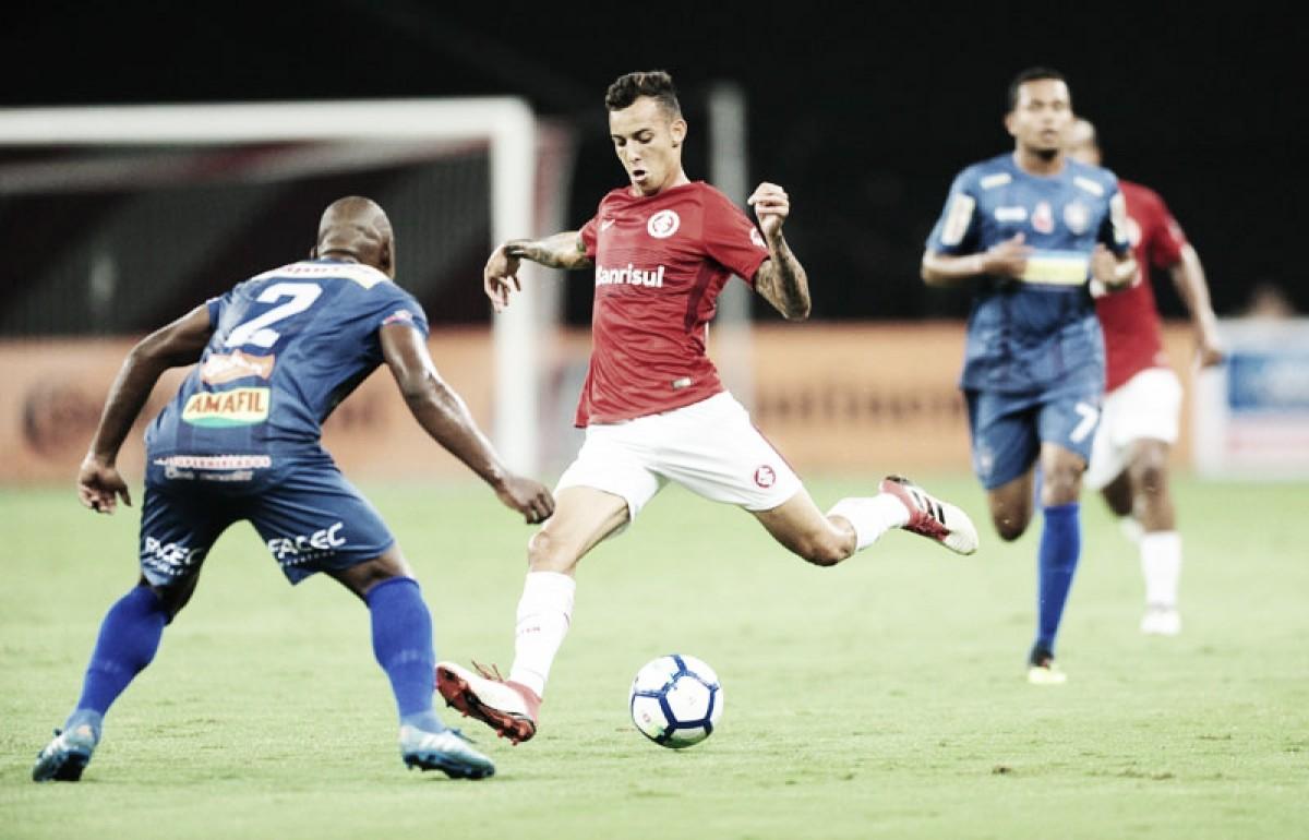 Em noite de Iago, Inter vence Cianorte e larga em vantagem na Copa do Brasil