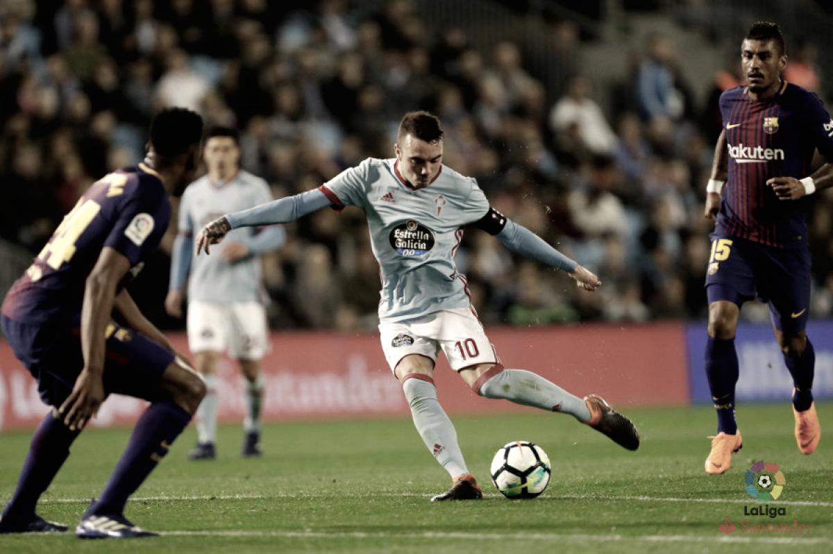"""Iago Aspas: """"Superar los 113 goles de Vlado Gudelj es un orgullo"""""""