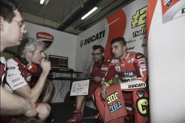 """Andrea Iannone: """"Estos tres días han sido positivos"""""""