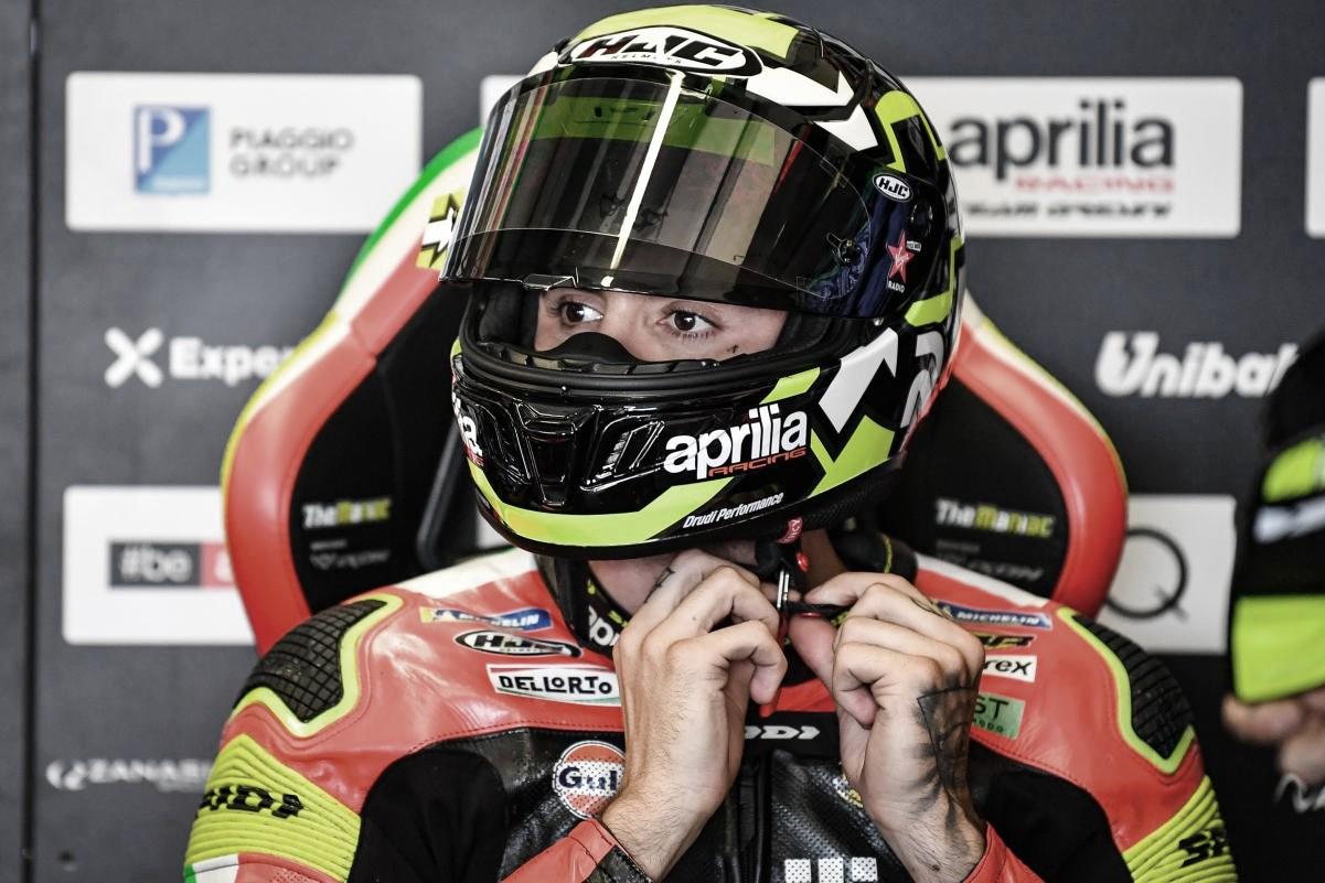 """Iannone: """"La moto es mi vida, solo quiero volver a mi equipo"""""""