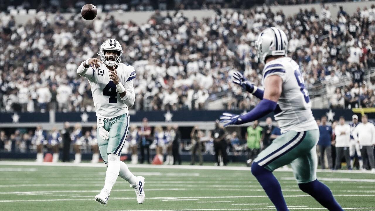 Dak Prescott lidera victoria de Cowboys sobre Giants