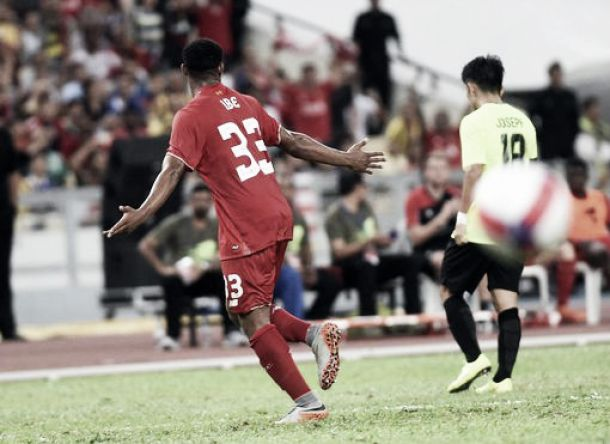 Malaysia All Star XI 1-1 Liverpool: Ibe goal not enough to secure victory for Liverpool