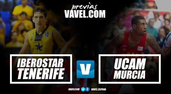 Previa Iberostar Tenerife – UCAM Murcia CB: Convertir el Santiago Martin en un fortín