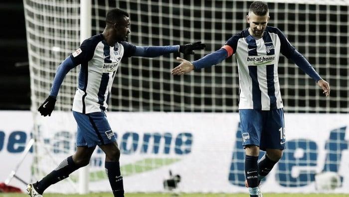 Ibisevic faz dois e é expulso, mas Hertha assegura vitória diante do Mainz 05