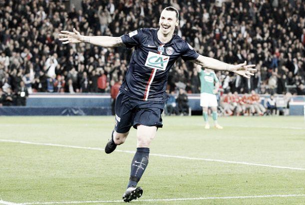 Psg goleia saint tienne e avan a final da coupe de france em noite de ibrahimovic - Coupe de france saint etienne ...