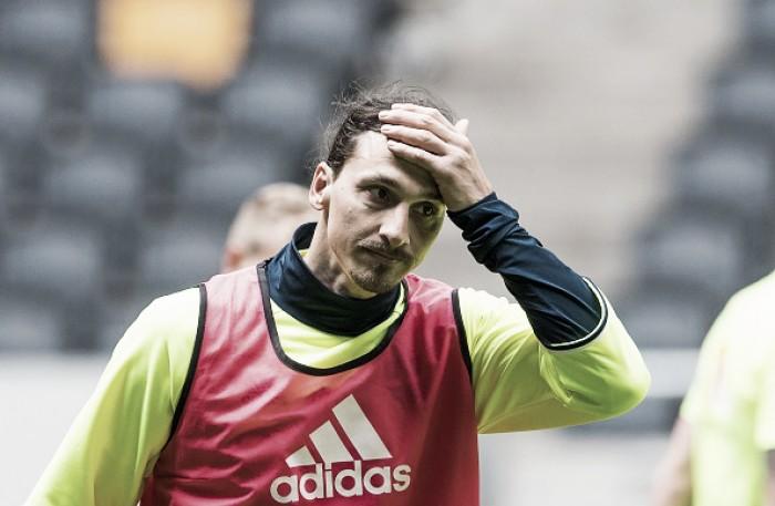 Ibrahimovic anuncia aposentadoria da Seleção Sueca e não disputa Olimpíada do Rio