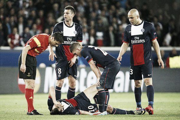 Dirigentes do PSG apontam que Ibrahimovic está fora do jogo de volta contra o Chelsea
