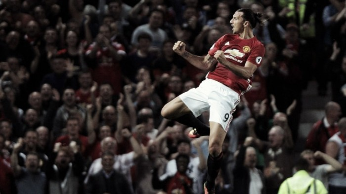 The Red Devils tame the Saints as Zlatan steals the show again