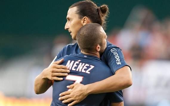 Otro doblete de Ibra da la primera victoria al PSG