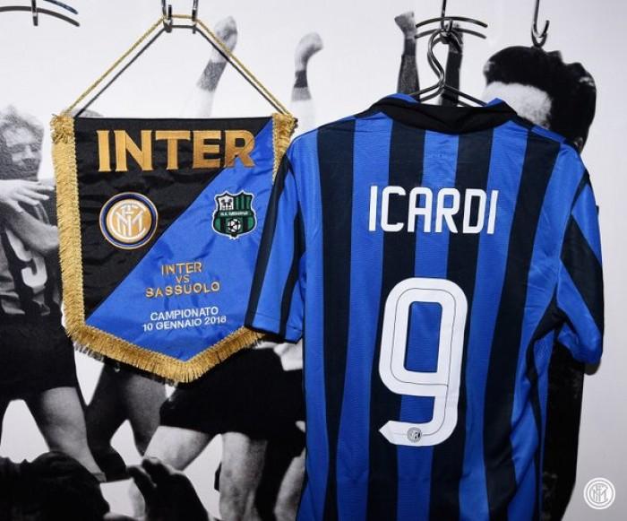 Inter per il primato, Sassuolo per lo sgambetto: le formazioni ufficiali