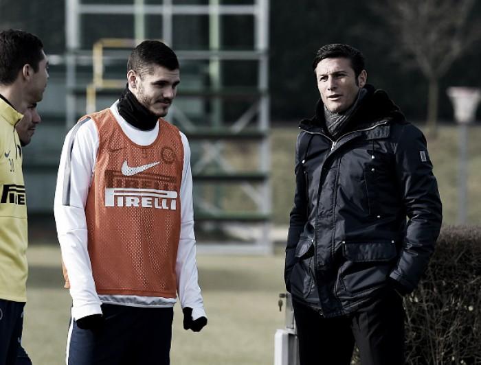 Vice-presidente Javier Zanetti garante permanência de Icardi na Internazionale