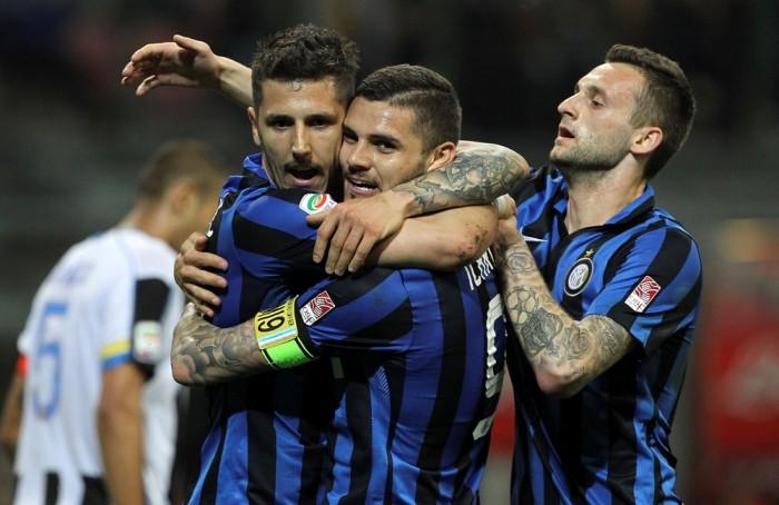 JoJo-Inter e finalmente Eder: Udinese battuta 3-1 al Meazza