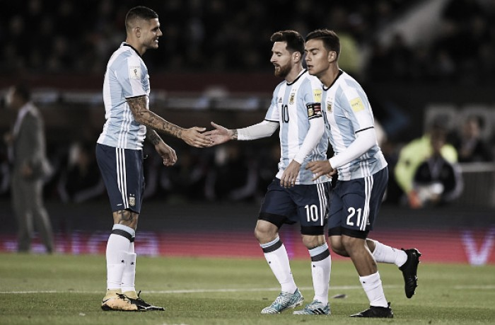Em boa fase na Europa, atacantes da Argentina decepcionam nas Eliminatórias