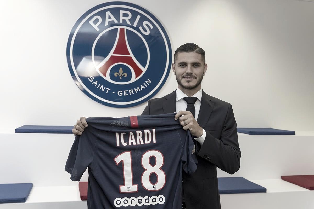 PSG exerce opção de compra e acerta em definitivo com atacante Mauro Icardi