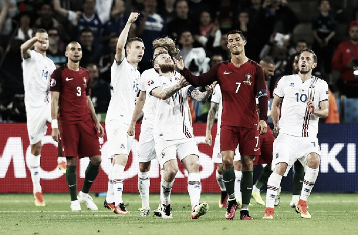 Portugal 1-1 Iceland: Minnows take a point from Cristiano Ronaldo's uninspired side