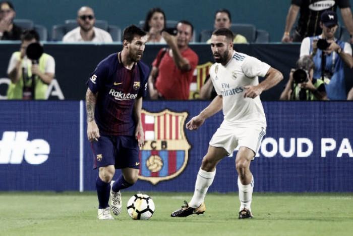 Ainda sem substituto para Neymar, Barça recebe Real Madrid pela ida da Supercopa da Espanha