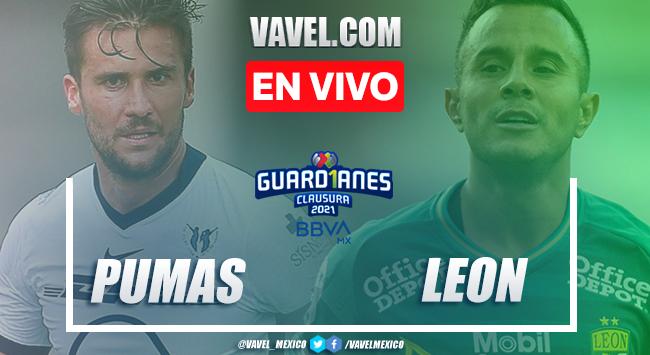Gol y resumen: Pumas 0-1 León en Jornada 7 de la Liga MX Guard1anes 2021