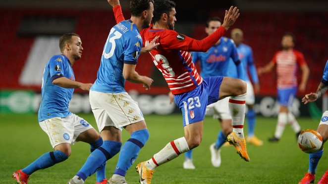 Previa Nápoles - Granada CF: 90 minutos para hacer historia