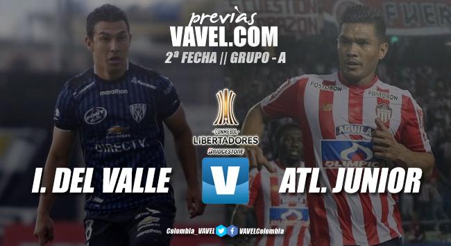 Previa Independiente del Valle - Junior de Barranquilla: en busca de enderezar el camino