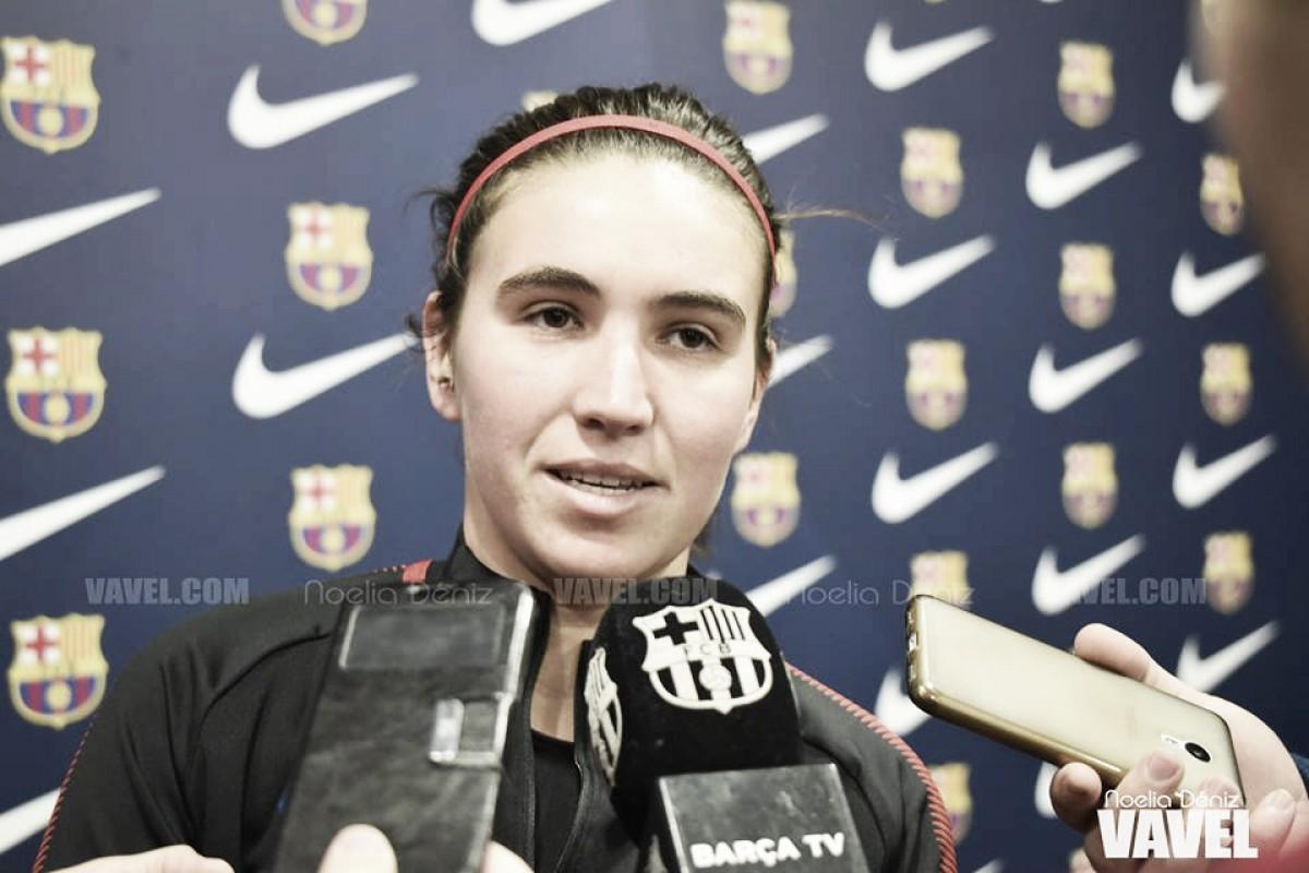 """Mariona Caldentey: """"Buscamos siempre la excelencia, y eso pasa por ganar todos los partidos"""""""