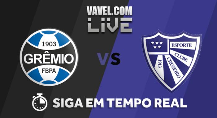 Resltado Grêmio x Cruzeiro-RS no Campeonato Gaúcho 2018 (0-1)