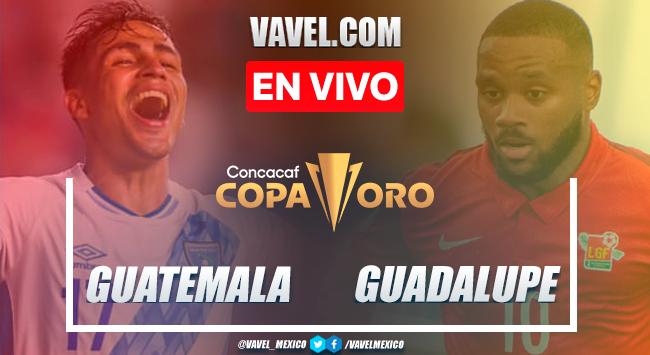 Resumen, goles y penales:Guatemala (9) 1-1 (10) Guadalupe Fase Previa de Copa Oro 2021
