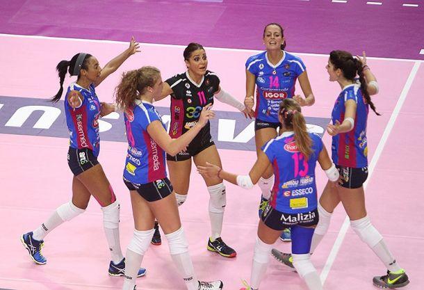 Volley, Champions League donne - Novara, una sconfitta dal dolce sapore