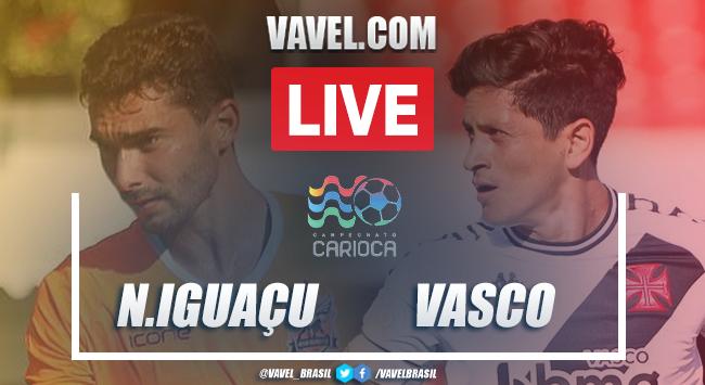 Gols e melhores momentos de Nova Iguaçu 2 x 2 Vasco pelo Campeonato Carioca