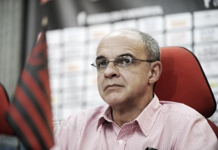 """Presidente do Flamengo responde discursos de Siemsene Nobre: """"Não entendo todo esse desespero"""""""