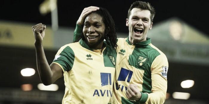 Premier League, Howson e Mbokani fanno volare il Norwich. Aston Villa ancora ko