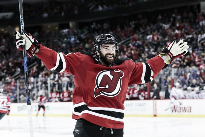 Los Devils pierden a Palmieri durante seis semanas