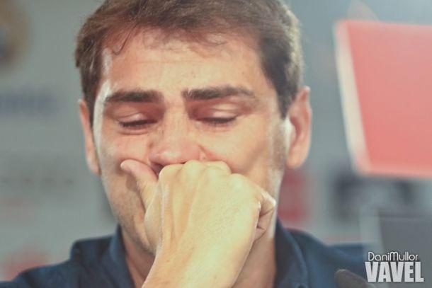 Rueda de prensa de despedida del Real Madrid de Iker Casillas