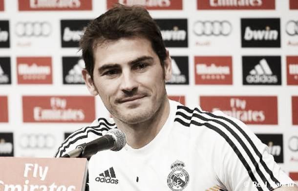 """Iker Casillas: """"No parto como titular, tengo que ganarme el puesto"""""""
